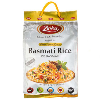 Zyka Extra Long Grain Basmathi  Rice(Gold)10lb