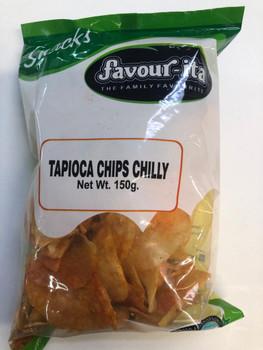 Favourita Tapioca Chilli Chips 150gm