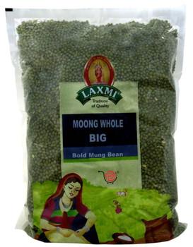 Laxmi Moong Whole (Bold)- 4 LB