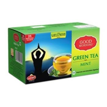 Wagh Bakri Green Mint Tea Bags 37.5g