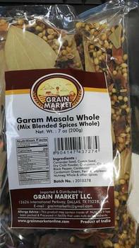 Grain Market Garam Masala Whole 200g