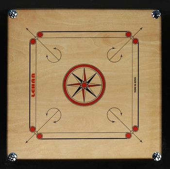 Carrom Board 35 inch with 24 Wooden Coins