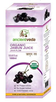 Ancient Veda Organic Jamun Juice 500ml