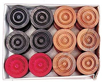 Carrom Wooden Coins
