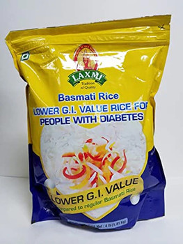 Laxmi Diabetic Basmati Rice - 10 Lbs