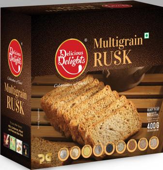 Delicious Delights Multigrain Rusk 400GM