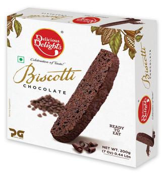 Delicious Delights Chocolate Biscotti 200gm