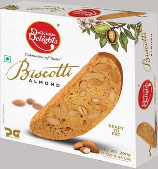 Delicious Delights Almond Biscotti 200gm