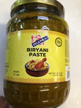 Dhanraj Biryani Paste - 750g
