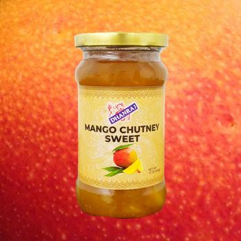 Dhanraj Sweet Mango Chutney - 12 oz