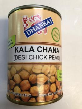 Dhanaraj Kala Chana (Tin) - 14 oz