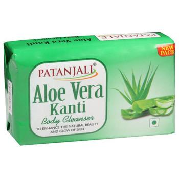 Patanjali Soap Aloevera Kanti - 150g