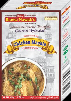 Banne Nawab Chicken Masala - 45g