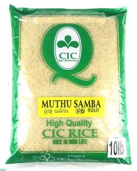CIC Muttu Samba Rice - 10 Lbs