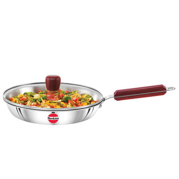 Hawkins Tri-Ply Stainless Steel Frying Pan 26cm (Free Shipping)