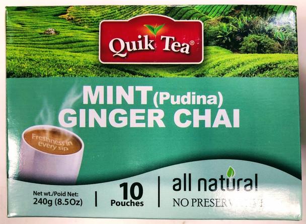 Quik Tea Mint Ginger Chai - 240g