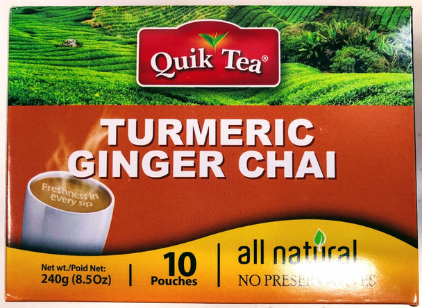 Quik Tea Turmeric Ginger Chai - 240g