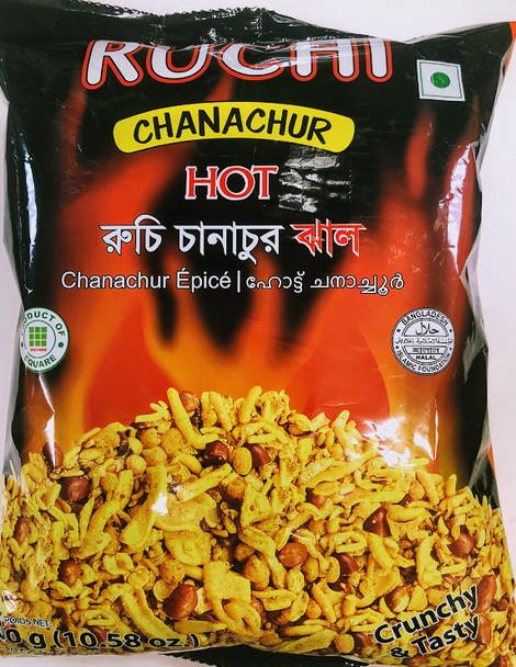 Ruchi Chanachur Hot - 300g