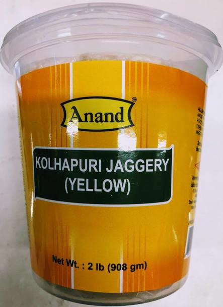 Anand Kohlapuri Jaggery (Yellow) - 2lb