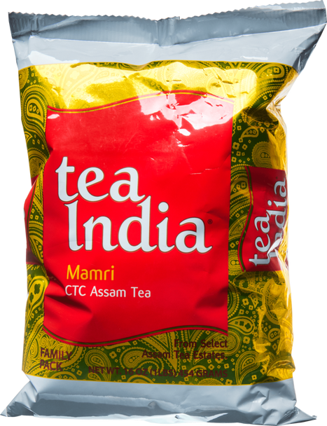 Tea India CTC Mamri Leaf Tea Poly - 2lb