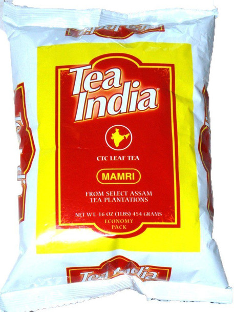 Tea India CTC Mamri Leaf Tea - 1lb