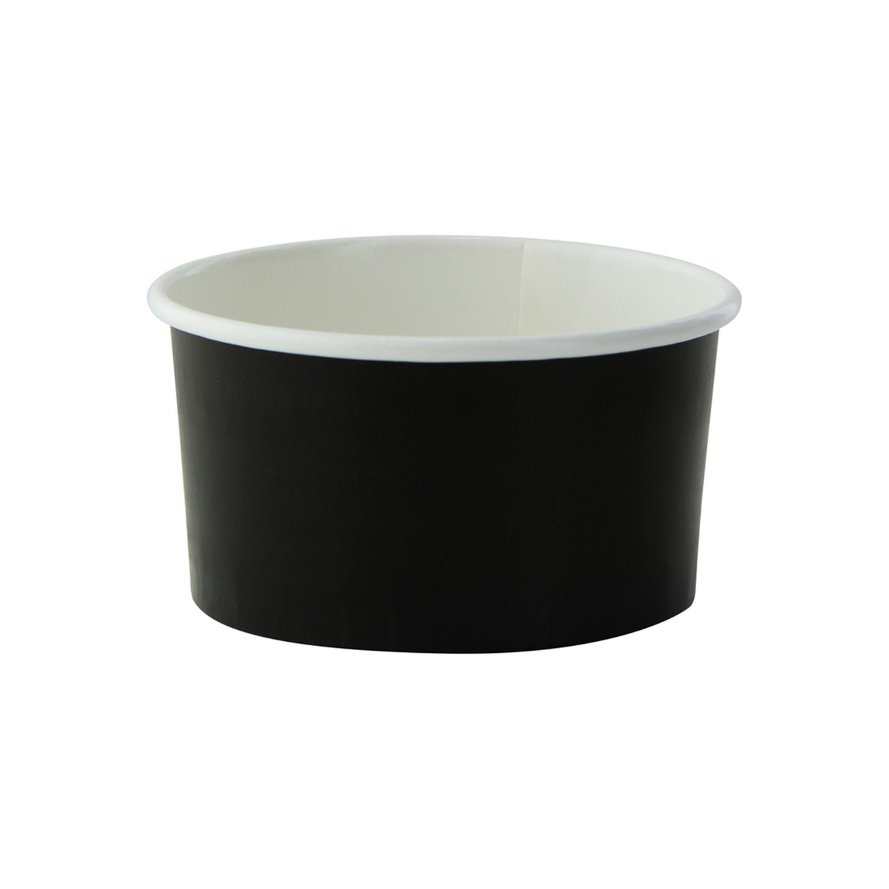 Black Paper Cup -5oz Dia:3.1in H:1.65in