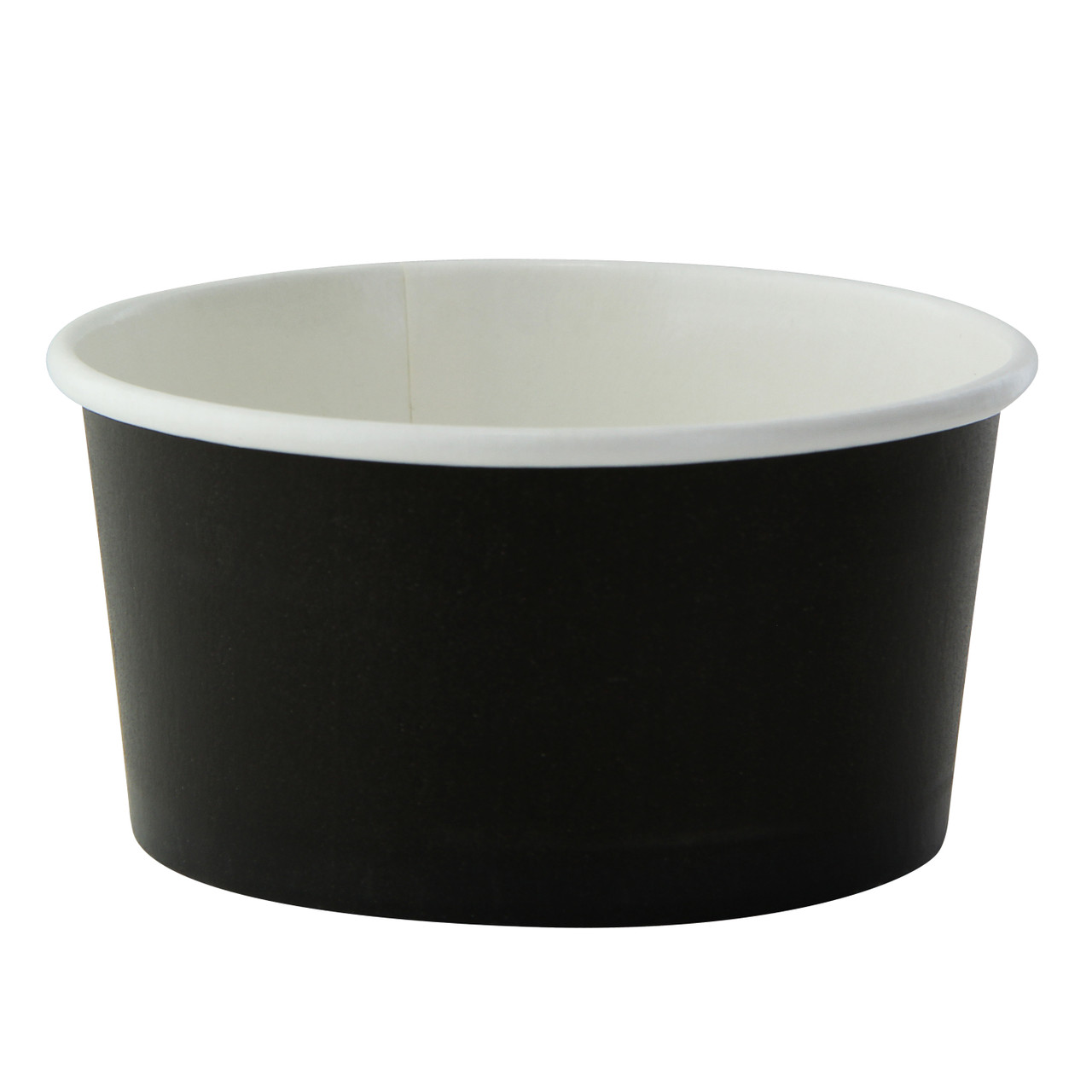 Black Paper Cup -7oz Dia:3.55in H:1.8in