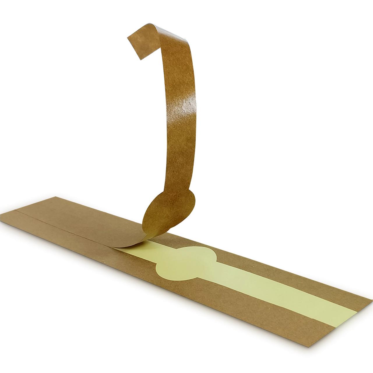 Kraft Self-Adhering Paper Wrapper - L:16 x W:7.05in