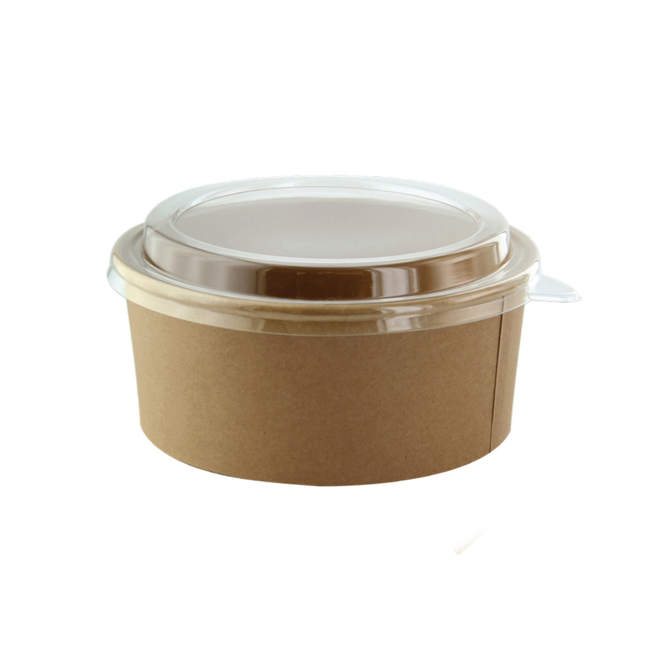 Round Kraft Salad Bucket -53oz Dia:7.25in H:3.25in