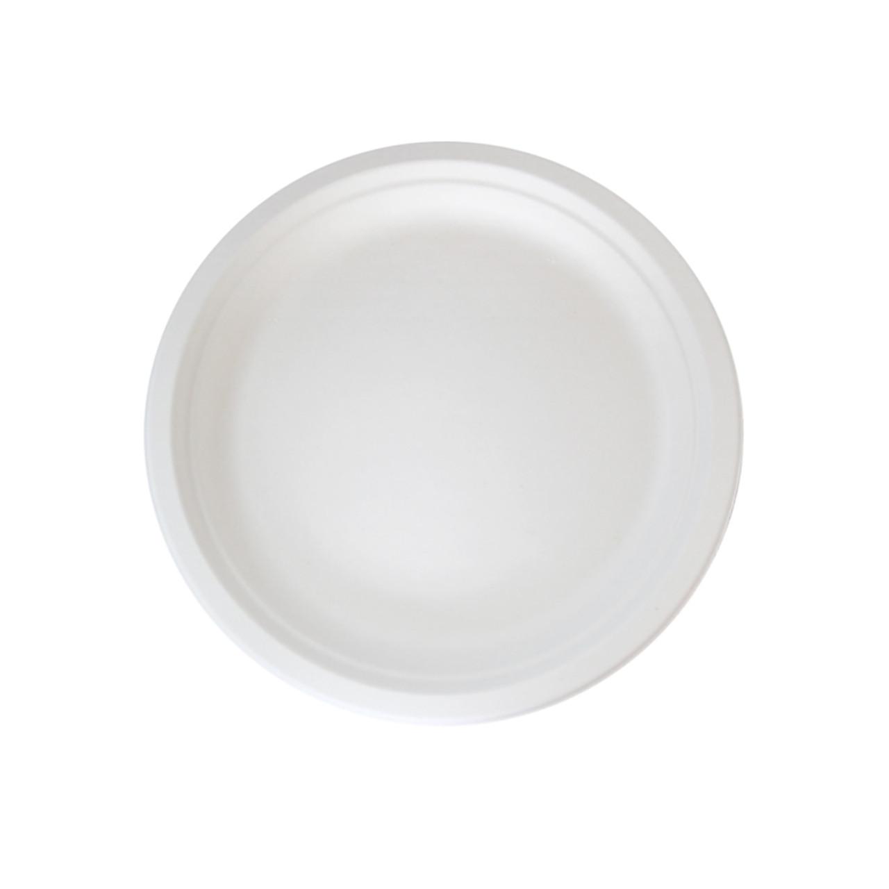 Round Sugarcane Plate - Dia:7in