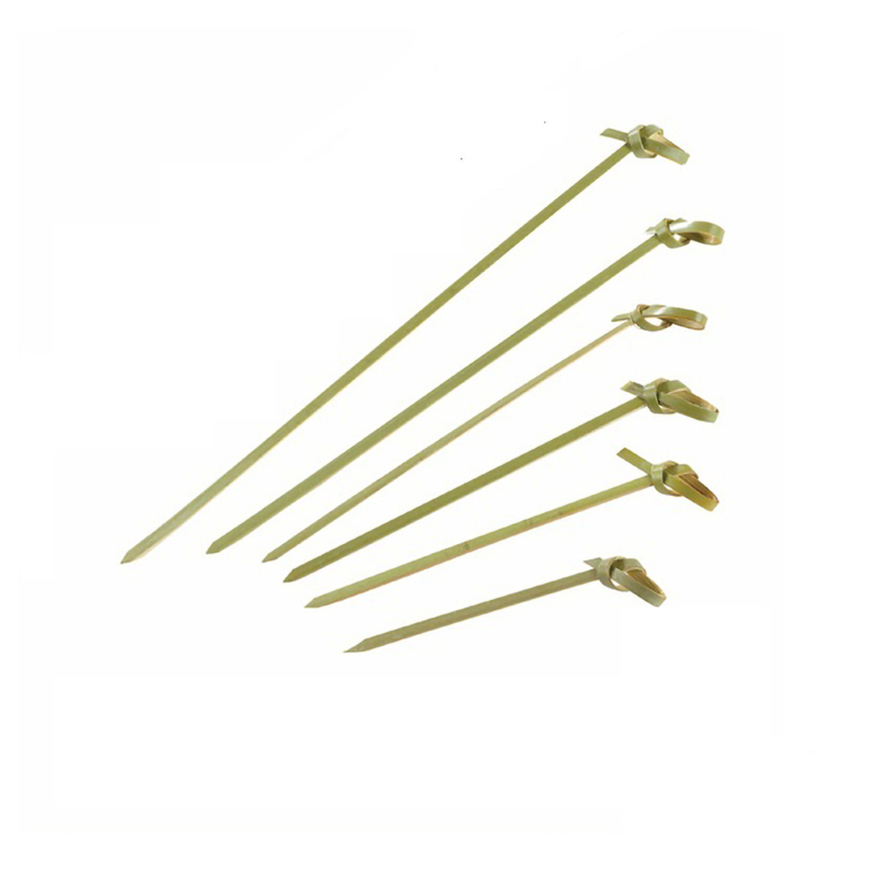 Knotty Bamboo Knotted Skewers - L:4.7in