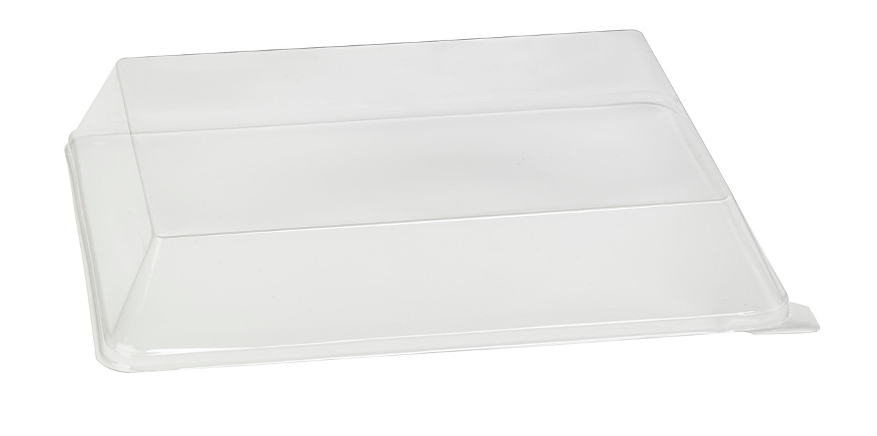 Clear Pet Lid For 210Bba2621 - L:10.95 x W:8.55in H:1.8in