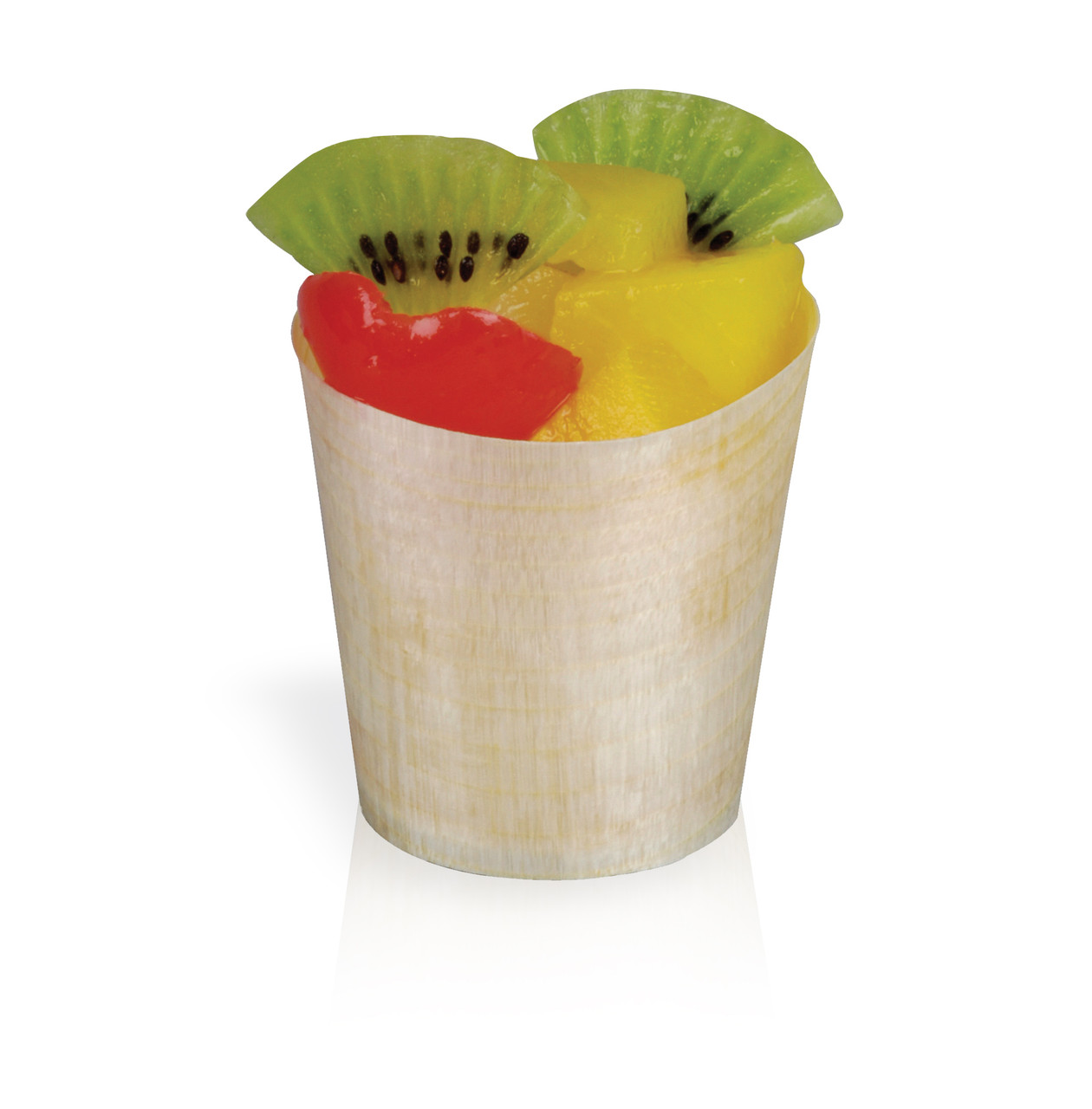 Mini Wooden Cup -3.75oz Dia:2.4in H:2.2in