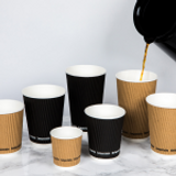 Benefits of PacknWood Compostable Rippled Cups For Coffee Shops