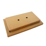 Kraft Meal Tray And Kray Box Lunchbox - 250 Sets