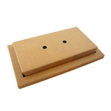 Kraft Meal Tray And Samurai Dish VIP Lunchbox - 200 Sets