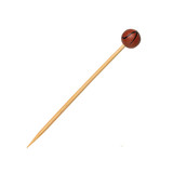 Bamboo Basketball Skewers - L:4.7in