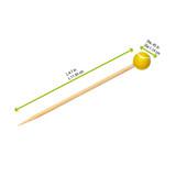Bamboo Tennis Skewers - L:4.7in