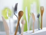 Mini Transparent Luxury Spoon - L:4.23in