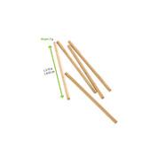 Wooden Cake Pop Sticks - Dia:.13in L:3.75in