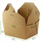 Kraft Meal Box -34oz L:8.5 x W:6.15 x H:1.85in