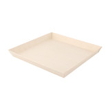 Square Samurai Wooden Dish -42oz L:9.1 x W:9.1 x H:.9in