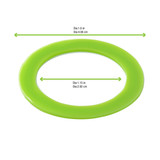 Lime Green Silicone Rings for 210BOKA65 & 210BOKA45 - Dia:1.6in