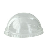 Clear PET Dome Lid for 210POC81N & 210POB80 & 210POC121N & 210POB121 - Dia:3.1in H:1.4in