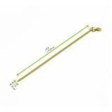 Bamboo Knotted Skewer - L:4.7in