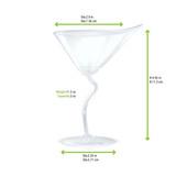 Mini Martini Cup -2oz Dia:2.9in H:4.45in