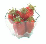 Deva Flower Shaped Transparent Cup -2oz Dia:2.4in H:1.8in