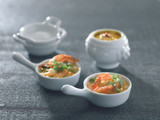 Mini Porcelain Bell Dish -1oz Dia:3.45in H:2.75in
