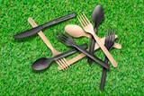 Cornstarch Fork - L:6.77in