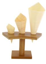 Mini Wooden Cones - 7.09 x 5.12 in